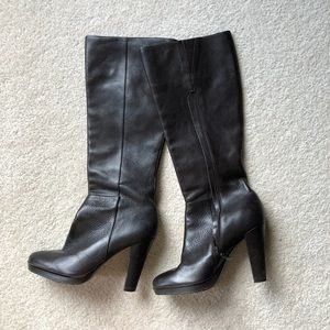 Calvin Klein heeled Leather Boots